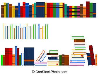 serie, di, libri