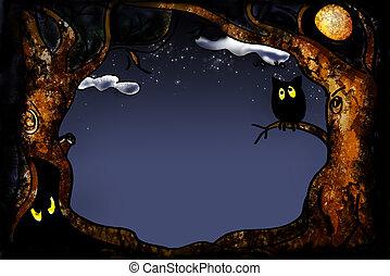 serie, halloween
