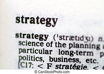 serie, parte, basado, palabras, estrategia
