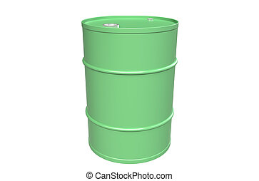 series., 部分, 倉庫, ドラム, 樽, green.
