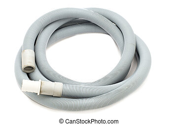 rubber hose - series object on white - tool - rubber hose