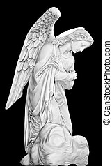 Cemetery Angel - Series of Cemetery Angels from New Orleans