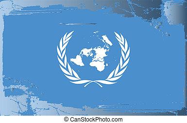 series-united, bandiera, grunge, nazioni