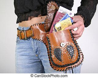 money belt bag
