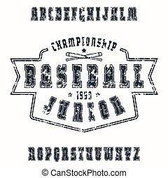 serif, fuente, contorno, textura