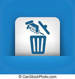 seringue, trashing