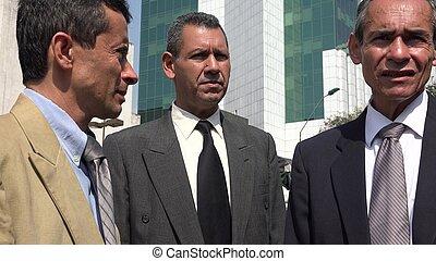 Serious Business Men