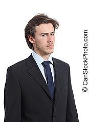Serious businessman portrait