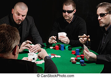 Serious card game