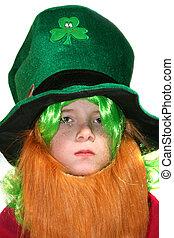 Serious Leprechaun Boy
