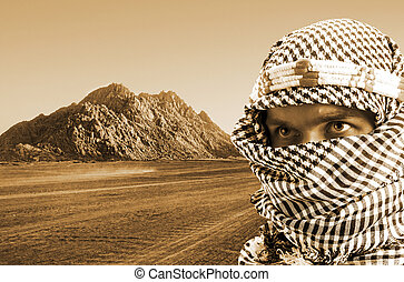 Serious middle eastern man