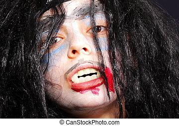 Serious vampire