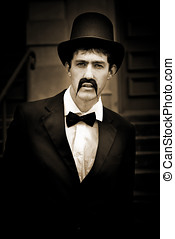 Serious Vintage Man