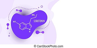 serotonin, 化学物質, 構造, ホルモン, 方式