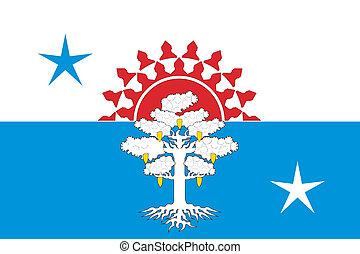 Serov city flag