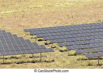 Serpa solar power plant