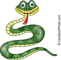 serpiente, caricatura