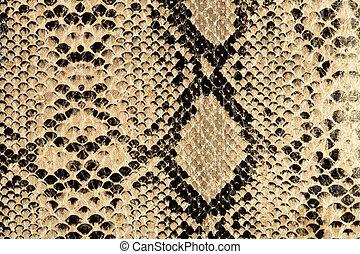 serpiente, textura