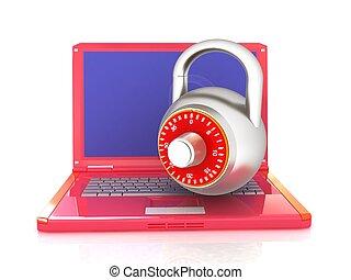 serratura,  laptop