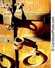 serratura, porta, casa