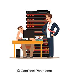 Server administrator workplace - Tired server administration...