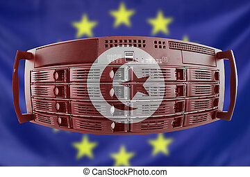 Server Concept Europe and Tunesia - Concept Server with the...