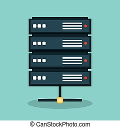 server data center icon