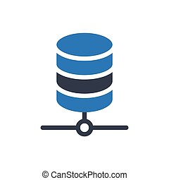 server  glyph color icon