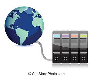 server on earth