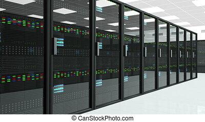 Server Room 3 - CPU Unit Server Room Data Center 3D...