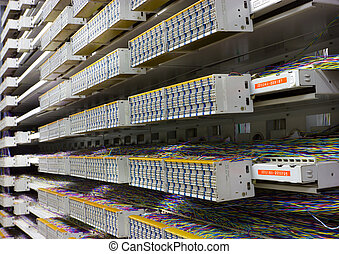Server room and control board