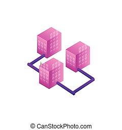 servers network data center