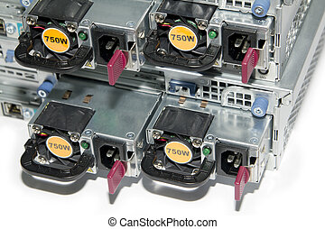 Servers power supply units