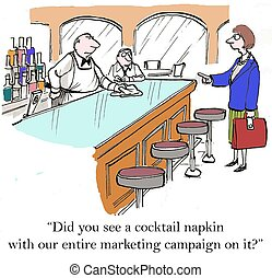 servet, met, ons, marketing, campagne, op,...