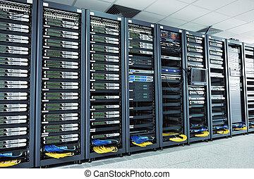 serveur réseau, salle