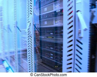 serveurs, données, centre
