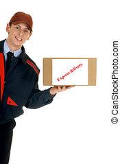 serviço postal, entrega