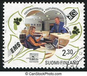 serviço postal