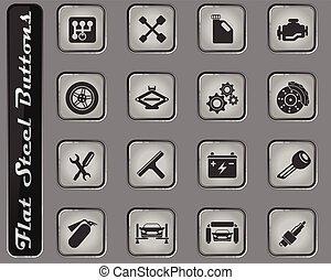 service automatique, icônes