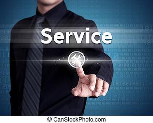service clientèle, icône