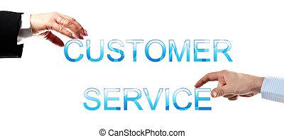 service clientèle, mots
