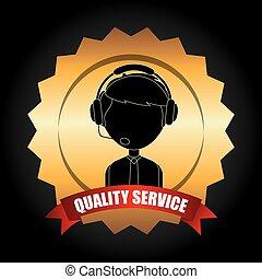 service, client, conception