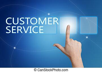service, client