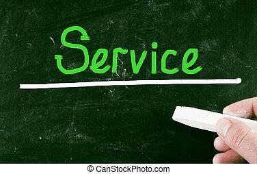 service, concept