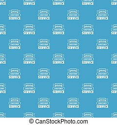 Service conditioner pattern vector seamless blue
