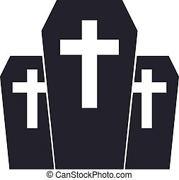 service., empresa, funeral, agency., emblem., vector, hogar...