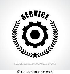 Service vector icon