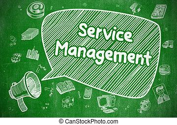Service Management - Business Concept.