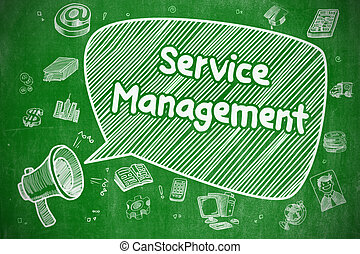 Service Management - Business Concept.