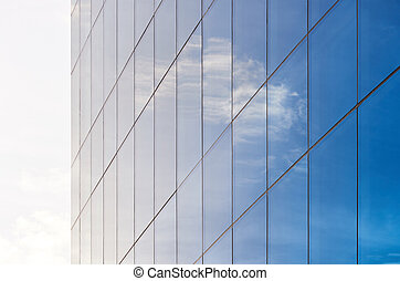 Service of cleaning glass windows